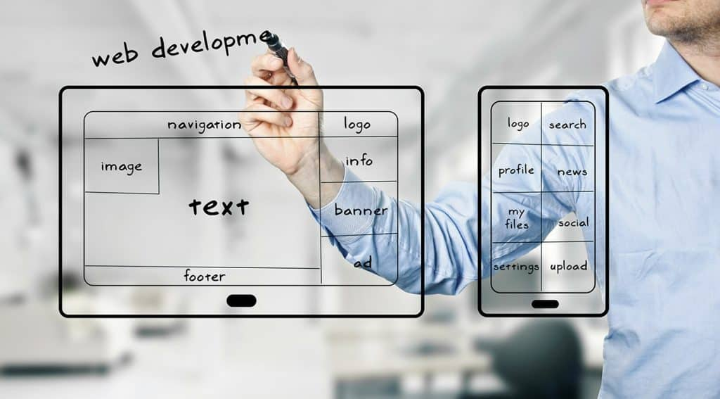 Mobile Web Development Image