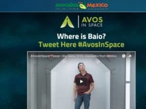 Avos In Space Pregame Tweet Before Super Bowl