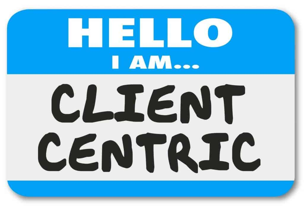 Client-centric is part of company culture