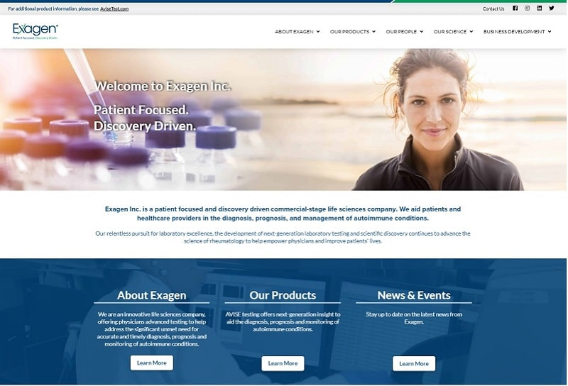 Singer Tax and Accounting website design example