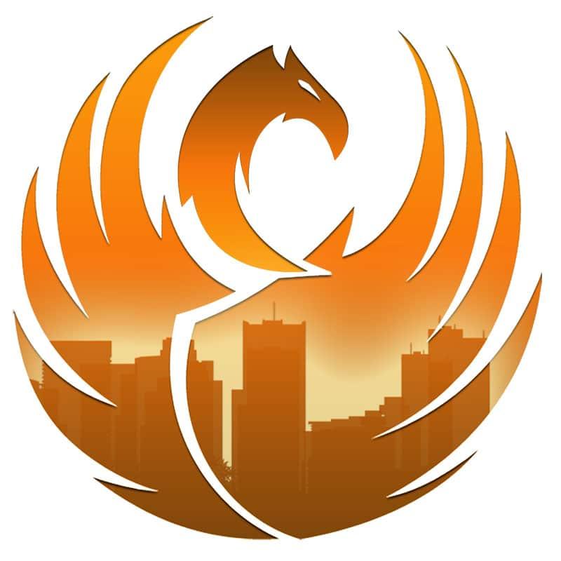phoenix online media hippa logo