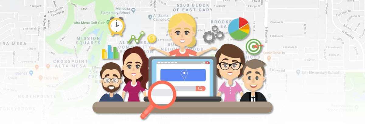 Social Media Marketing Geographically Targeted