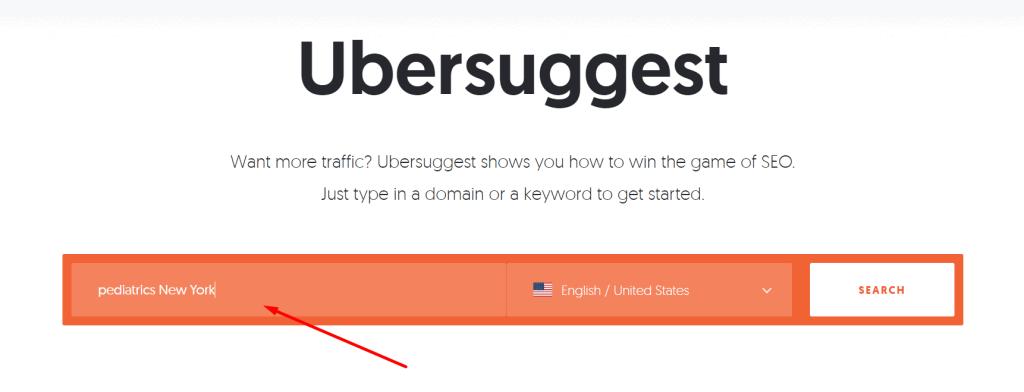 Ubersuggest Banner - Example