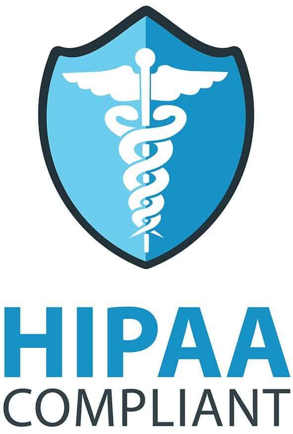 HIPPA compliant badge