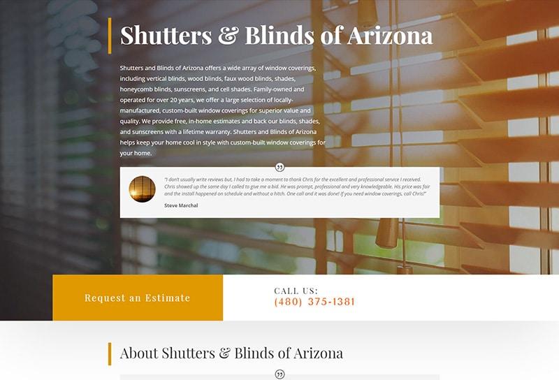 Shutters & Blinds of Arizona