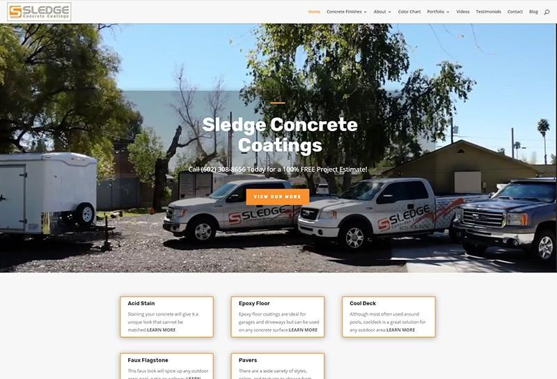 Sledge Concrete Coatings