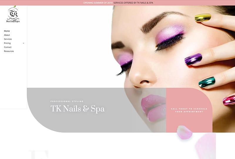TK Nails & Spa
